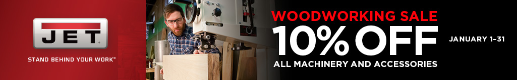 Jet Woodworking Tools Sale
