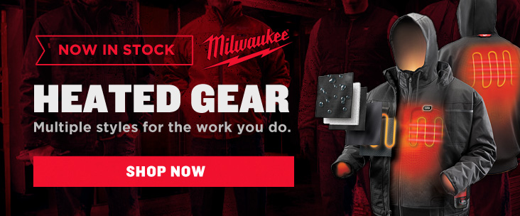 New Milwaukee Heated Jackets, Hoodies, and More