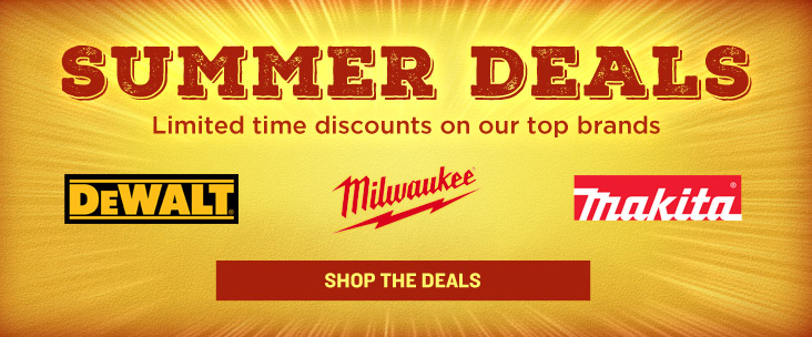 Summer Deals - Limited Time Discounts on Our Top Brands