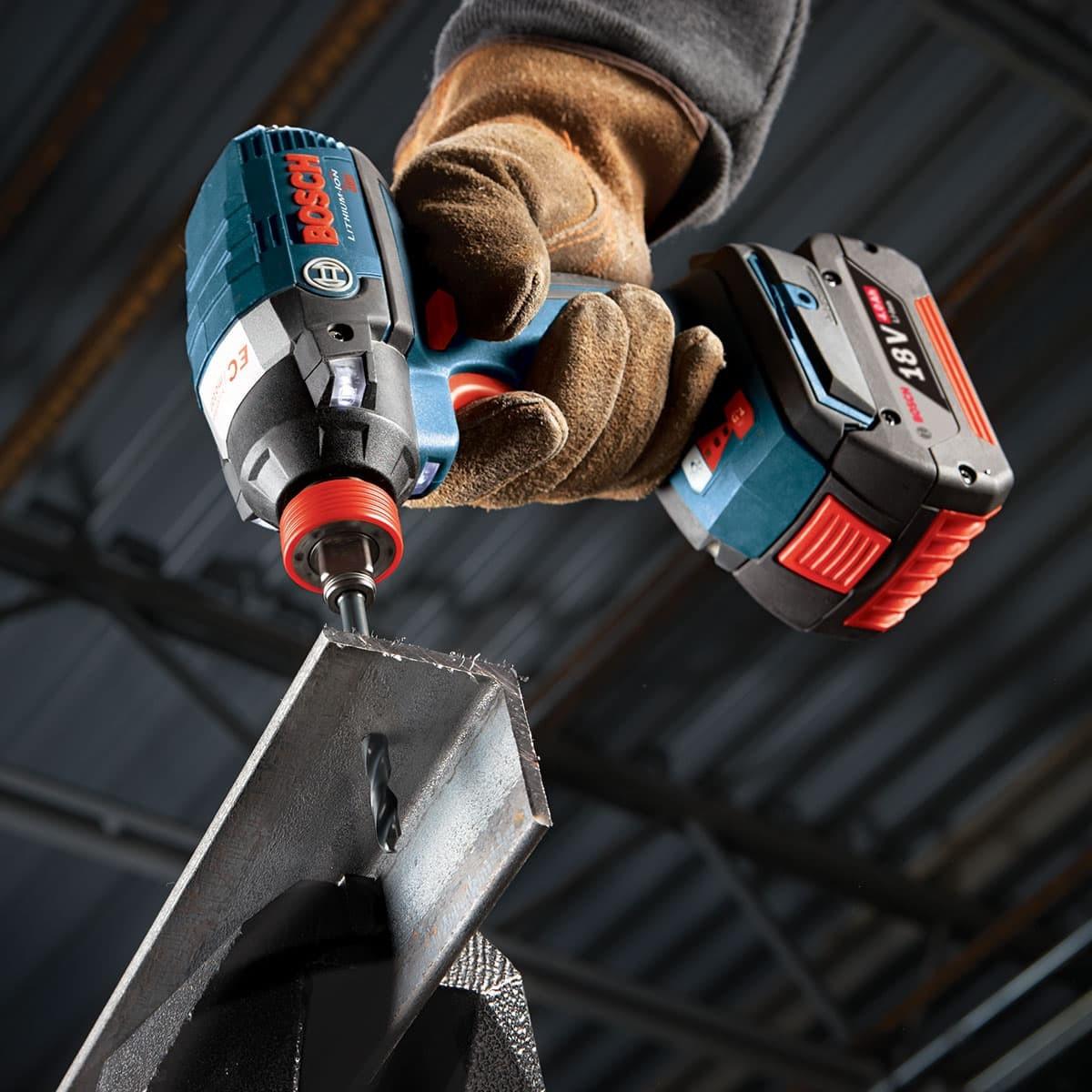 Bosch TI2139IM 3//16-Inch Impact Tough Titanium Drill Bit,
