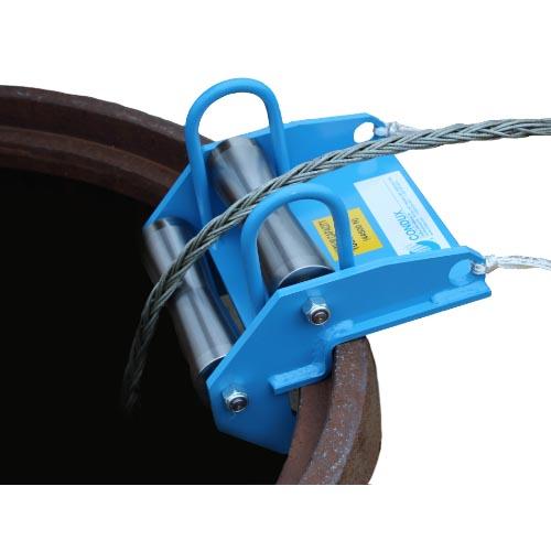 Condux 08045000 Mini Corner Cable Guide 10 000 Lbs Cable