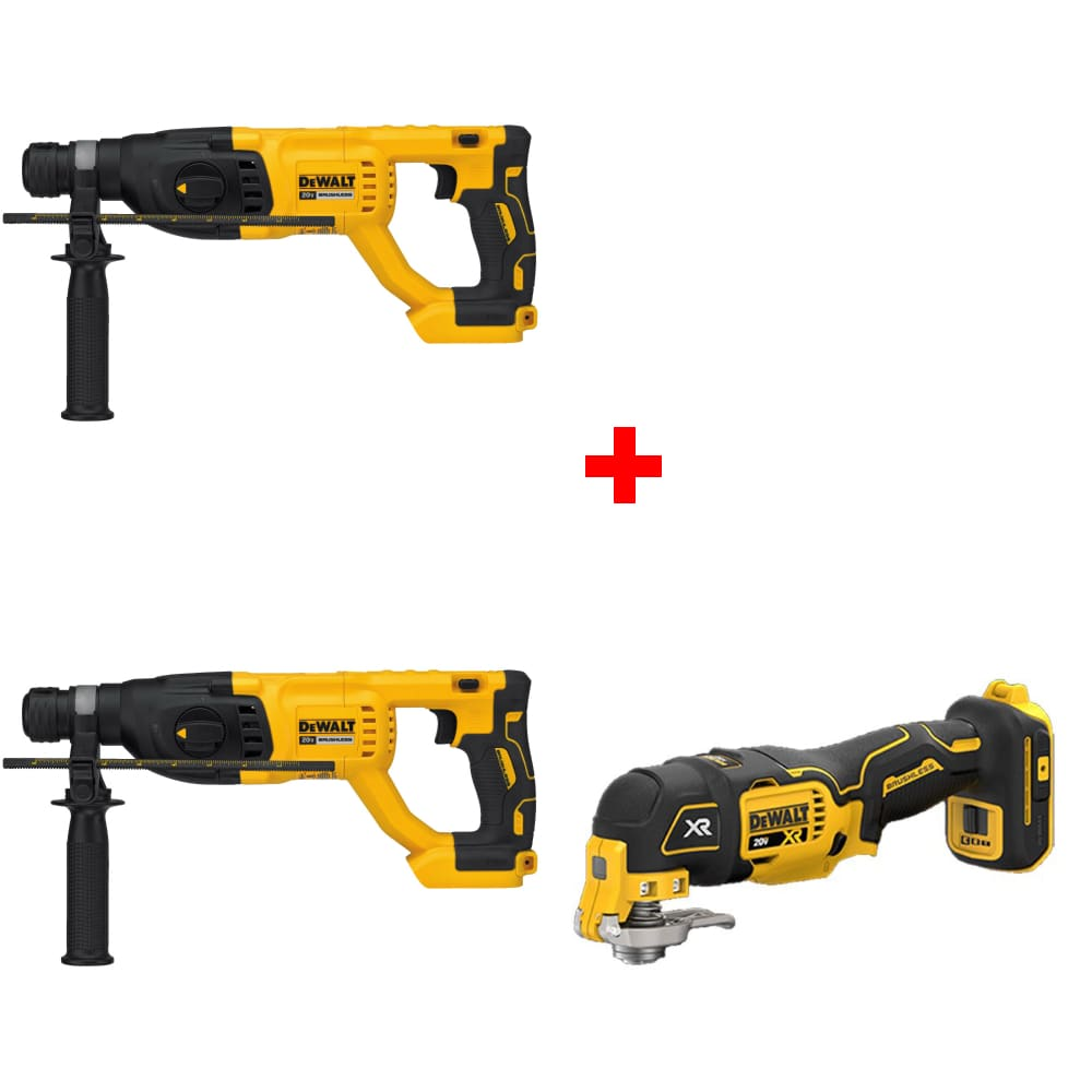 dch133b 20v 1 rotary hammer drill w