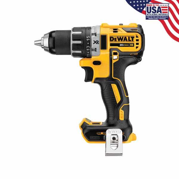 DeWalt DCD791B 20V MAX XR Li-Ion Compact Brushless Drill / D