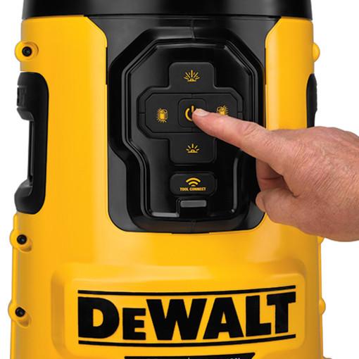 Dewalt Dcl070 20v Max Bluetooth Led Area Light Bare Tool