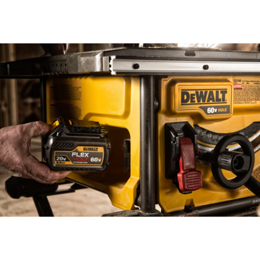Dewalt Dcs7485t1 60v Max Flexvolt Brushless Table Saw With