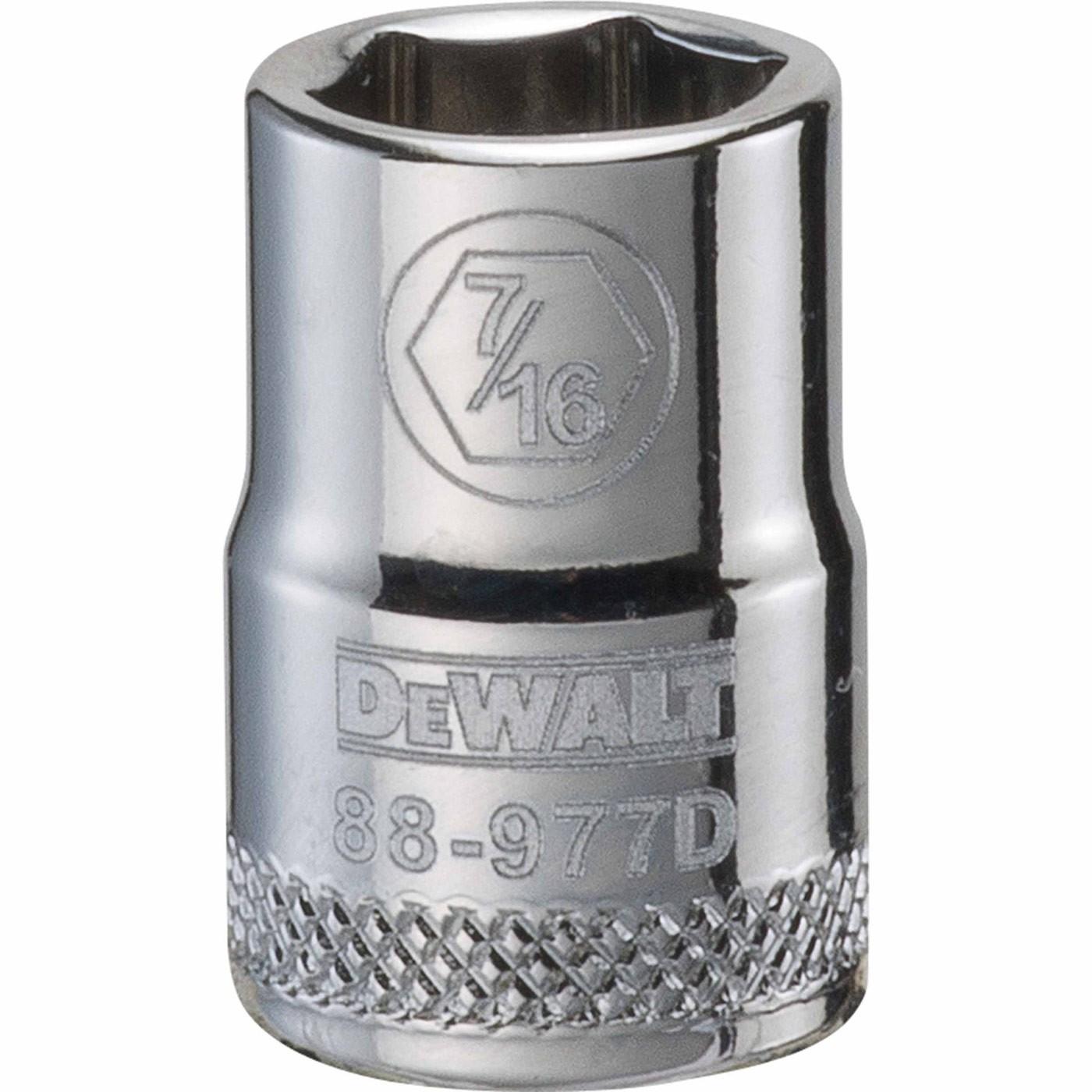 DEWALT DWMT88979OSP 6 Point 3//8 Drive Socket 9//16 SAE DWMT88979B