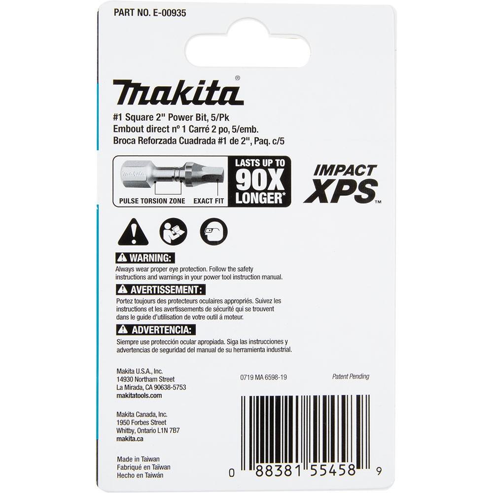 Makita E-00935 Impact XPS #1 Square 2