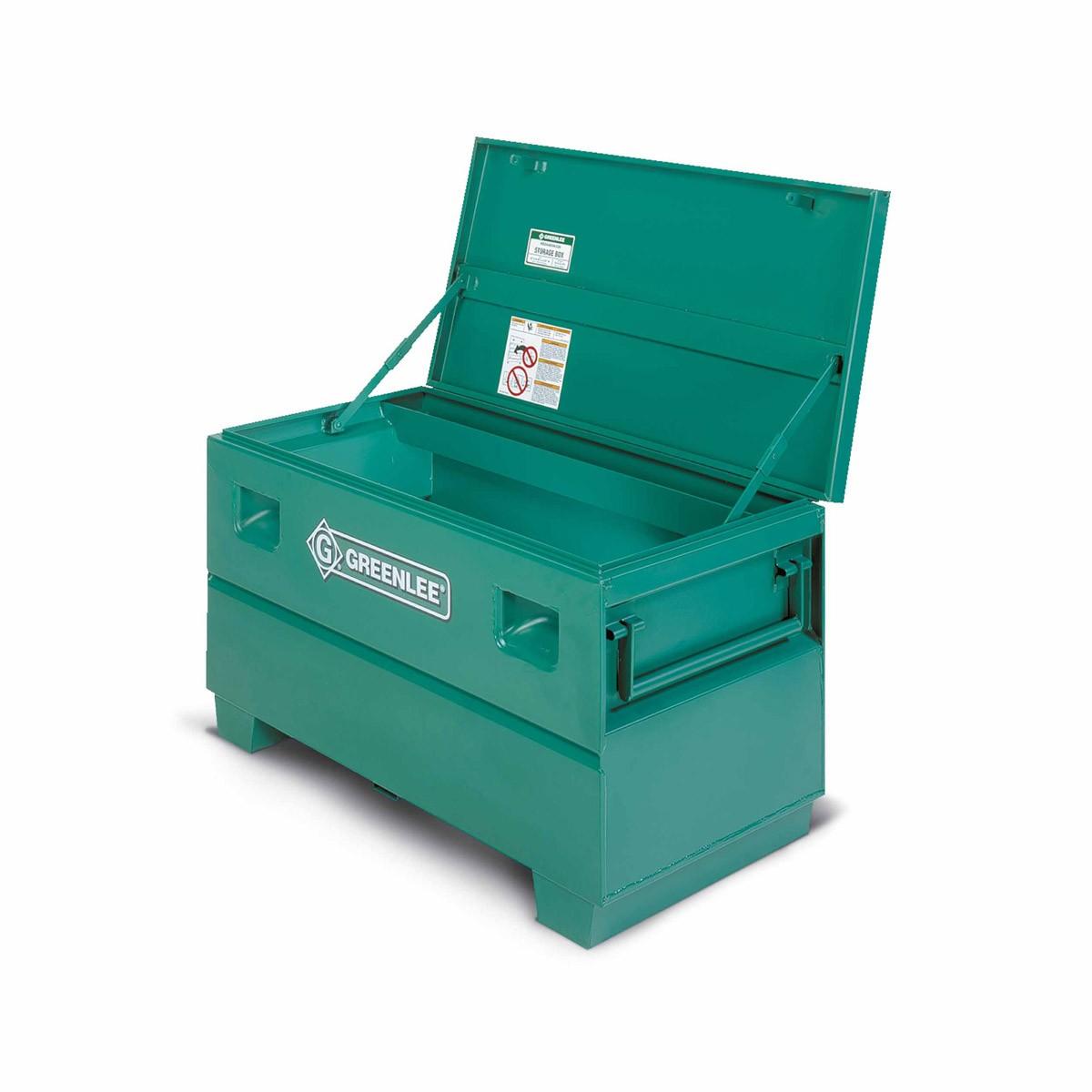 greenlee 2448 mobile storage chest 48 x 24 x 24 for job. Black Bedroom Furniture Sets. Home Design Ideas