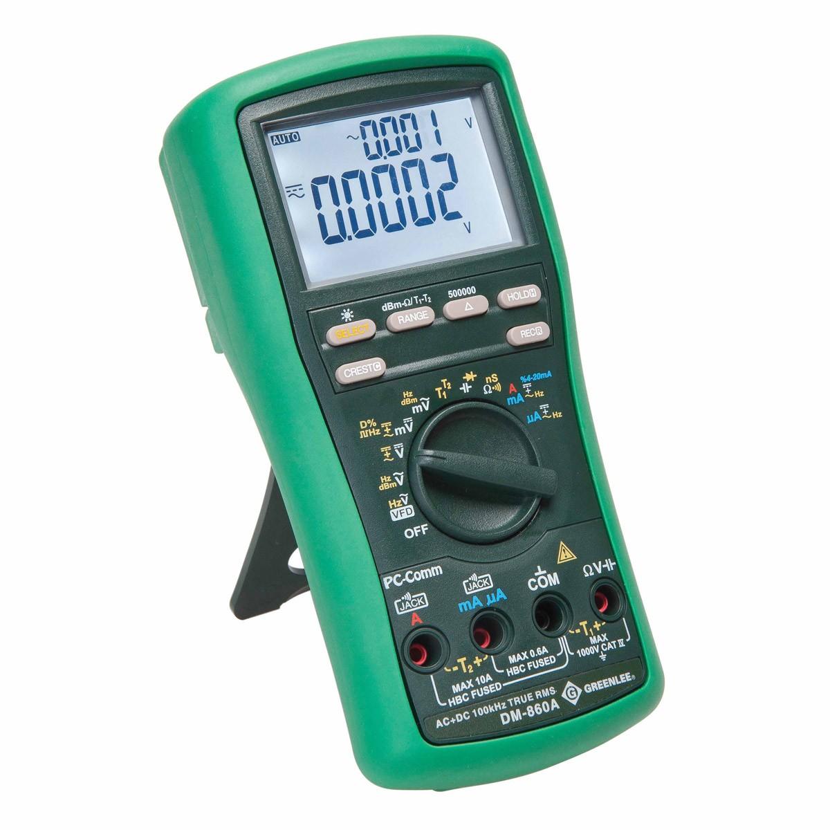Electrical Tester Greenlee Dm 40 : Greenlee dm a industrial digital multimeter