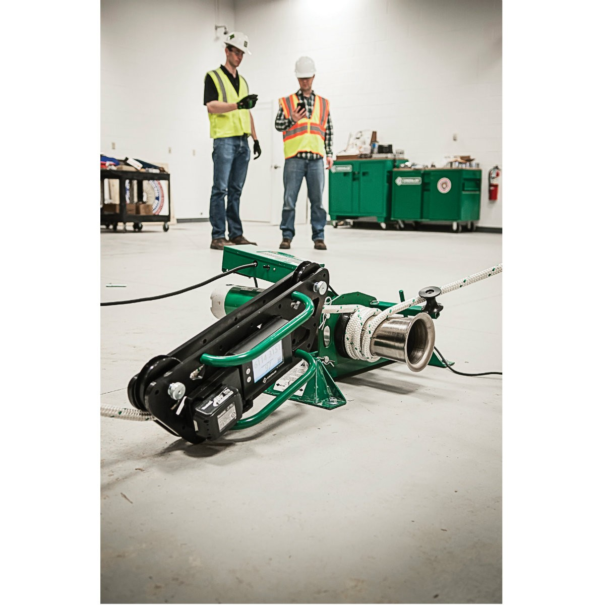 Fantastic Greenlee Wire Puller Picture Collection - Electrical ...