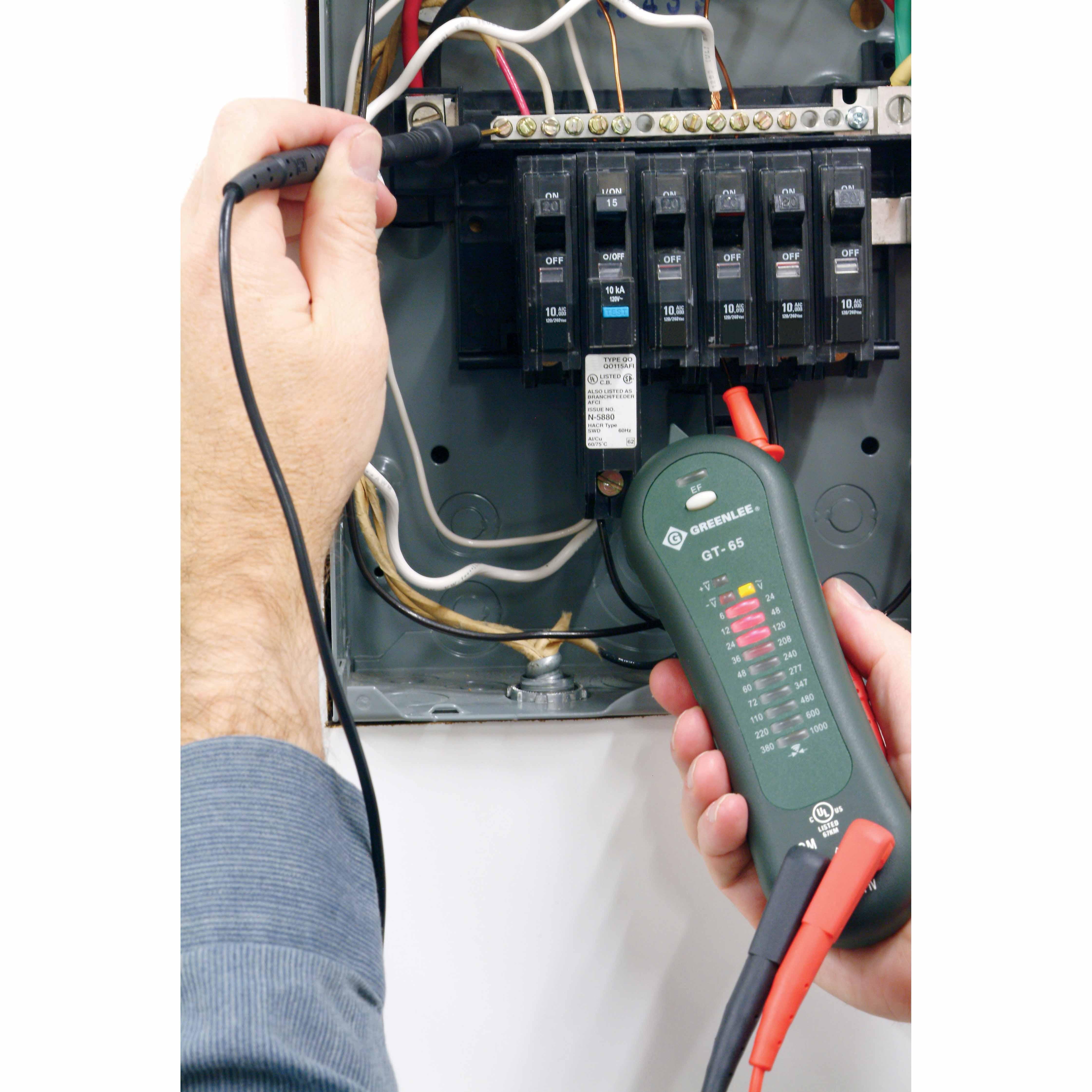 Greenlee Voltage Tester : Greenlee gt voltage tester cat iv v iii