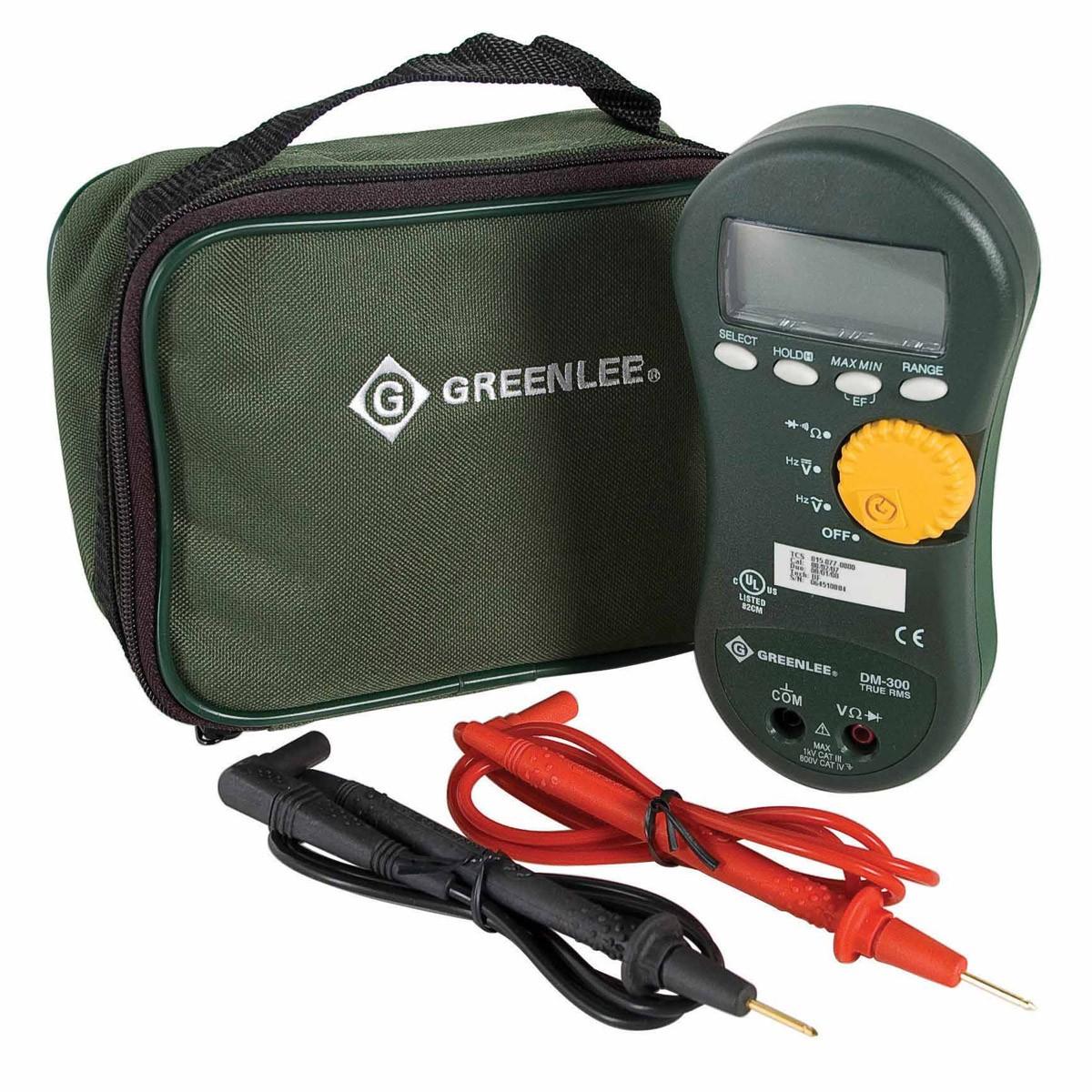 Electrical Tester Greenlee Dm 40 : Greenlee dm digital multimeter v rms