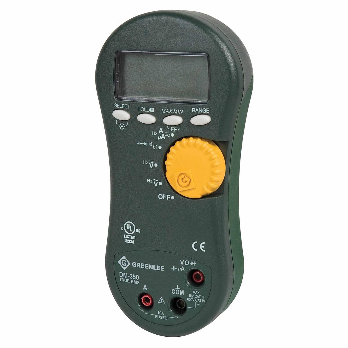 Electrical Tester Greenlee Dm 40 : Greenlee dm dmm v a rms bl