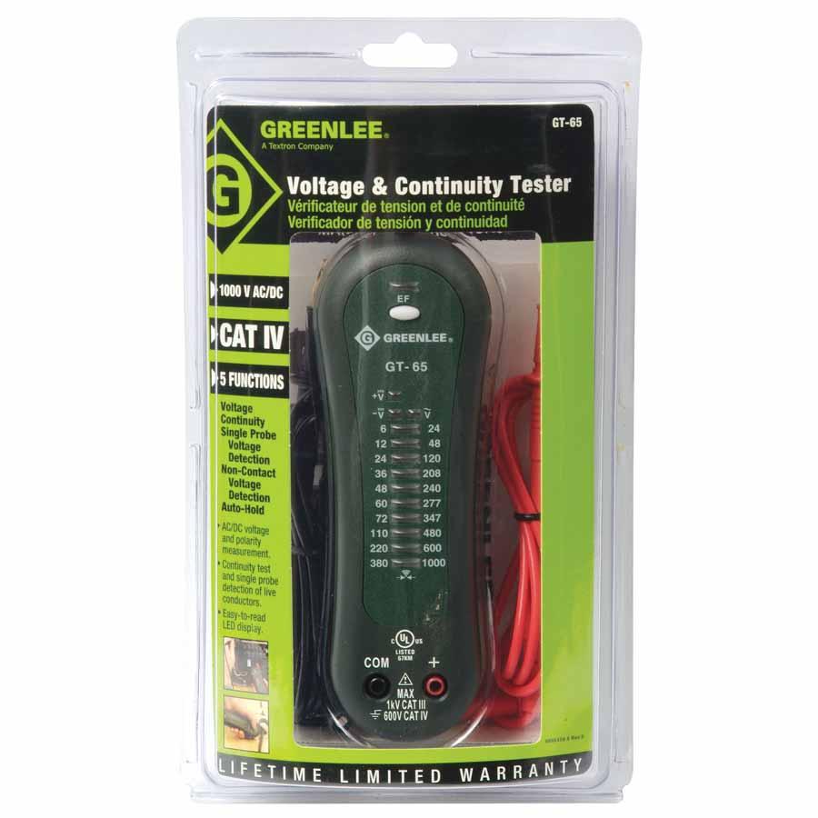 Greenlee Voltage Tester : Greenlee gt voltage tester