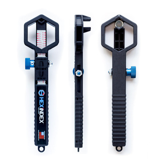 Hex Index X-1 Nut/Bolt Measuring Device SAE/Metric