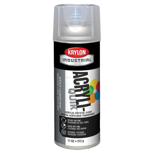 Krylon 1301 Acrylic crystal clear spray