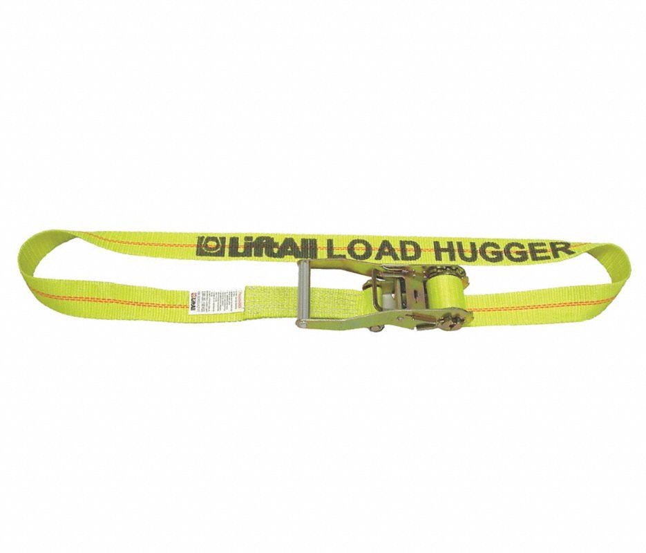 3 x 30 Liftall TE61220#12000 Load Hugger Tuff-Edge Tiedown Strap Winch Assembly TE Sewn Eye