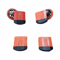 Little Giant 31002 Outer Snap Foot Wheel Kit For Alta One Ladder