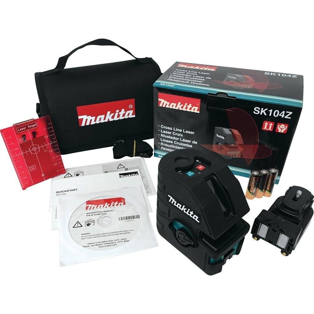 Makita SK104Z Self-Leveling Cross-Line Laser