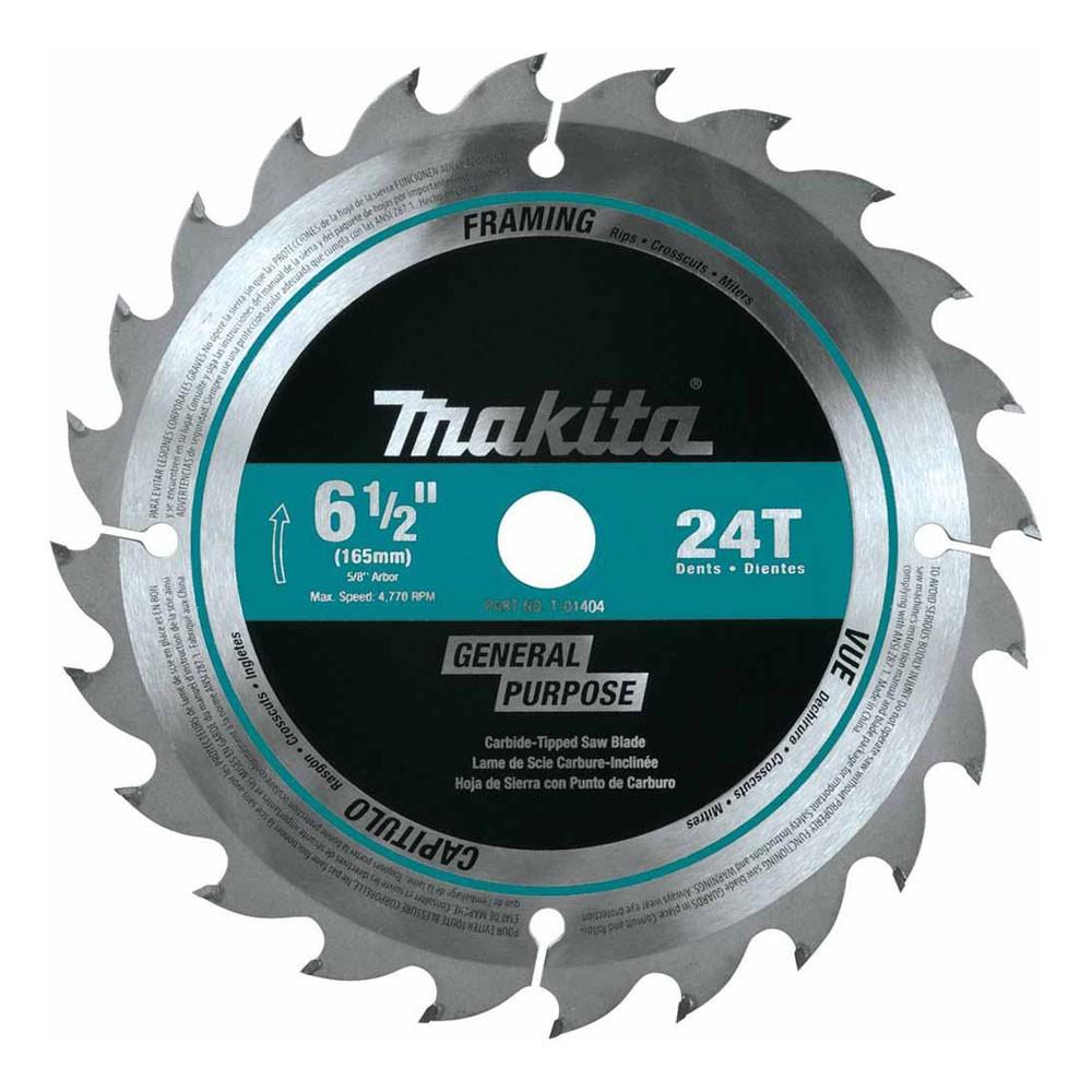 Tool accessories circular saw blades makita t 01404 6 12 24t carbide tipped circular saw blade framing greentooth Image collections
