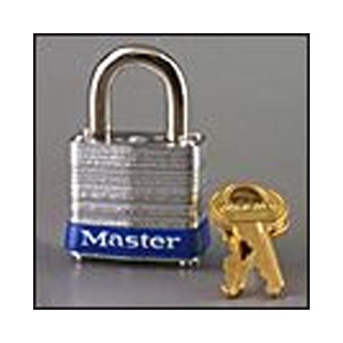 "5 2/"" Wide Laminated Steel Pin Tumbler Padlock MasterLock Model No"