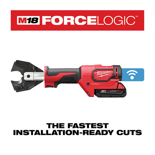 Milwaukee 2672 21s M18 Force Logic Cable Cutter Kit With