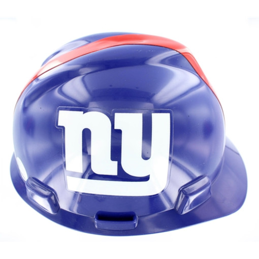 Mine Safety Appliances Company 818403 NFL hard hat - new york giants afdb0b4adf5