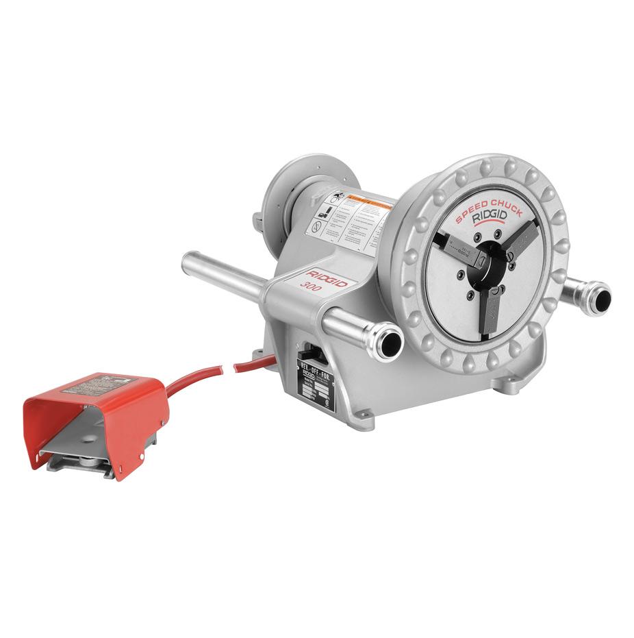 sc 1 th 225 & Ridgid 15682 300 Complete Power Drive Pipe Threading Machine 38 RPM