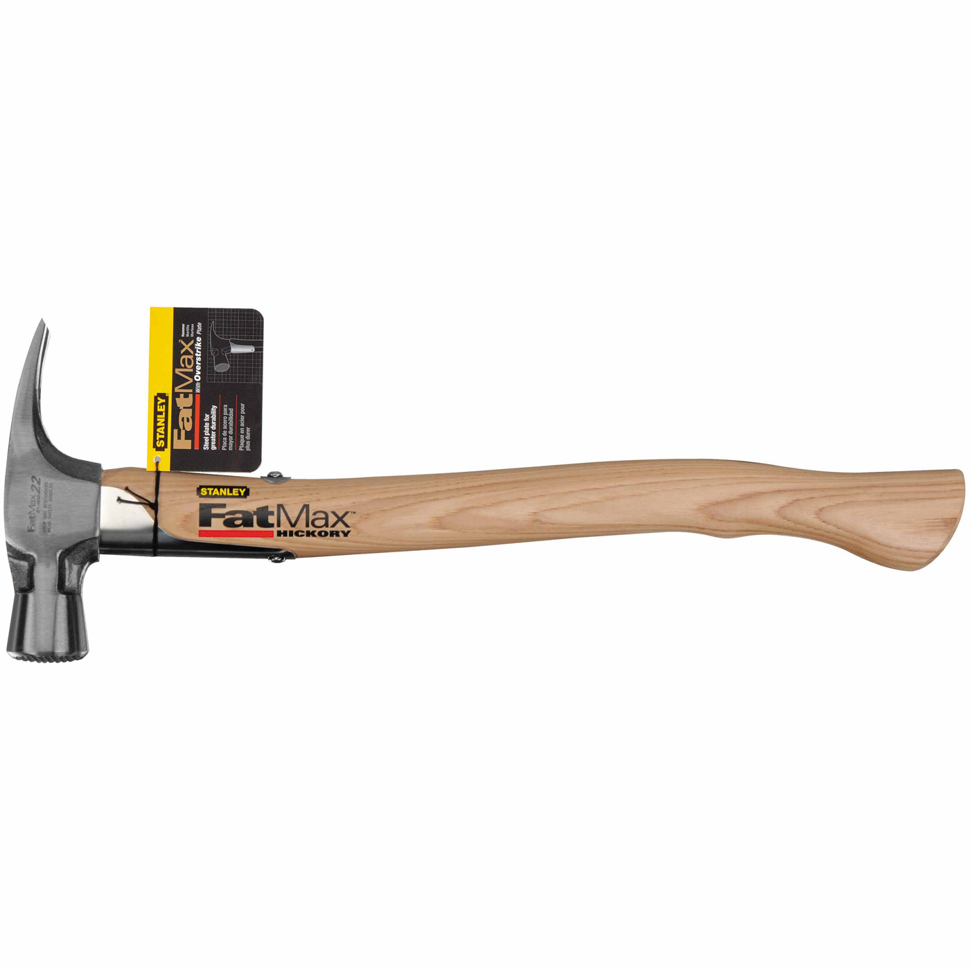 Stanley 51-403 Stanley FatMax Hickory Handle Overstrike Checkered ...
