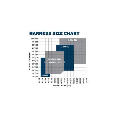 Werner H411002 Basewear Standard 1 D Ring 1per Pack Universal Harness