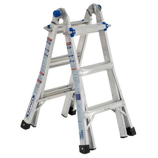 Werner Mt 13 14 Reach Multi Position Ladder 300lb