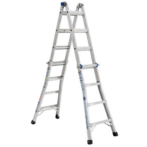 Werner Mt 17 18 Reach Multi Position Ladder 300lb
