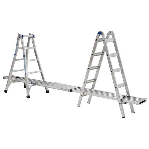 Werner Mt 22 22 Reach Multi Position Ladder 300lb