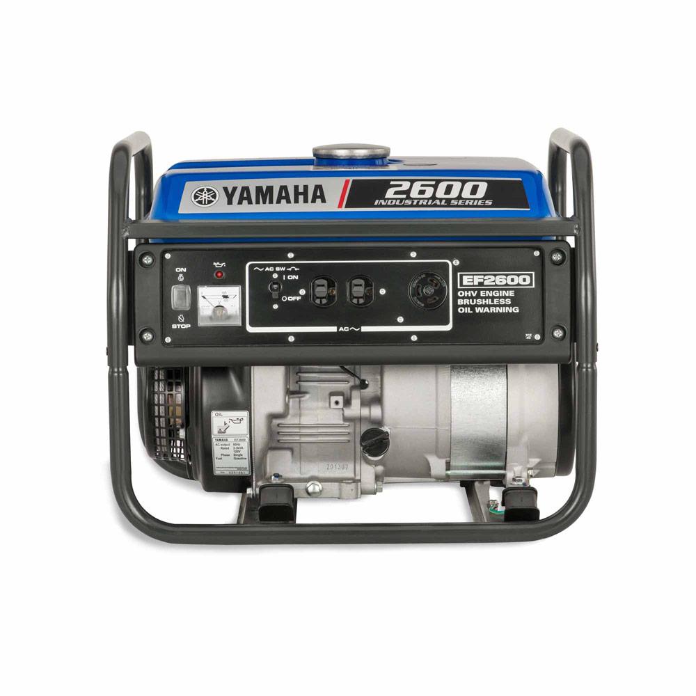 yamaha ef2600 2600 watt gasoline manual start generator rh toolup com Yamaha Generator EF2600 Gas Tank yamaha ef2600 generator owner's manual