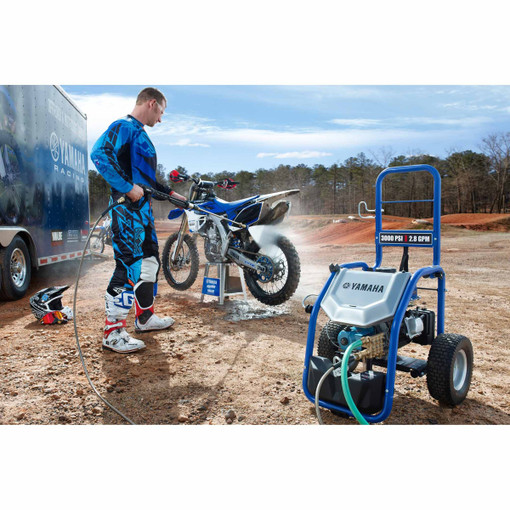 Yamaha PW3028 3000 PSI 2 8 GPM Gasoline Pressure Washer with CAT Pump