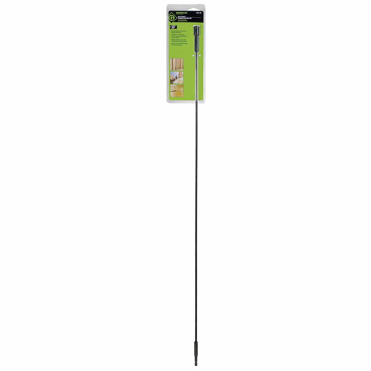Greenlee 921 36 extension quick change 3 16x36 for Fish tape lowes