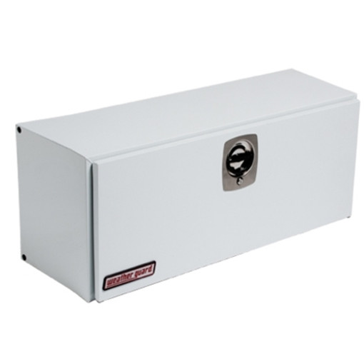 Weather Guard 247 3 02 White Steel Super Side Truck Box