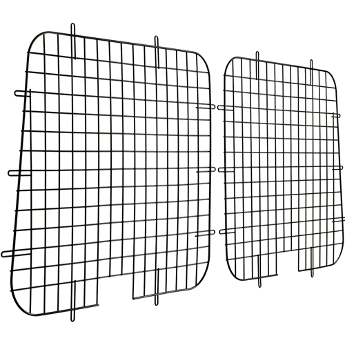 Weather Guard 88041 Black 7-Gauge Steel Full Window Screen
